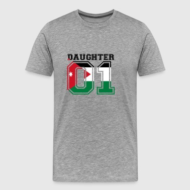 Daughter daughter queen 01 Jordan - Men's Premium T-Shirt