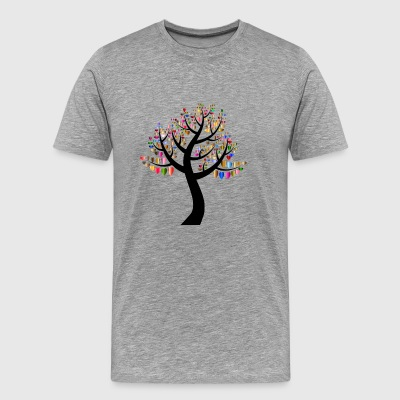 heart Tree - Herre premium T-shirt