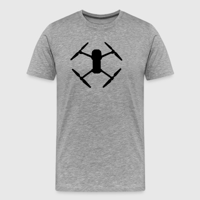 Drone black - Men's Premium T-Shirt
