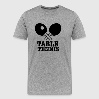 table tennis - Mannen Premium T-shirt