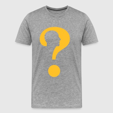 Question - Mannen Premium T-shirt