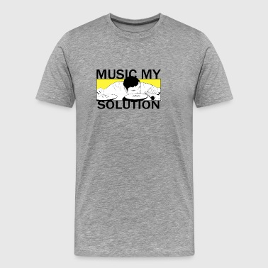 MUSIC MY SOLUTION - T-shirt Premium Homme