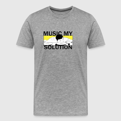 MUSIC MY SOLUTION - Men's Premium T-Shirt