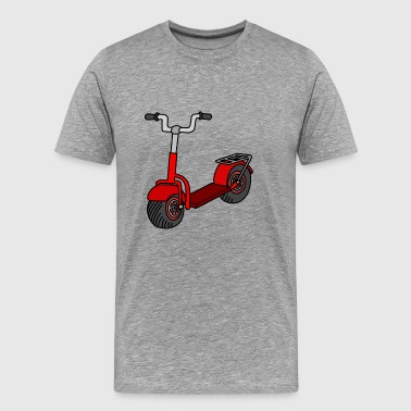 Kick scooter - Premium T-skjorte for menn
