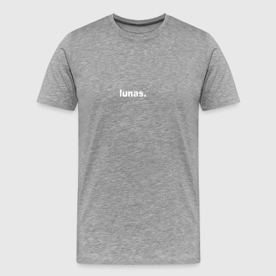 Gift grunge style first name lunas - Men's Premium T-Shirt