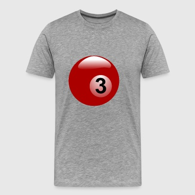 pool billiards snooker queue ball sports22 - Men's Premium T-Shirt