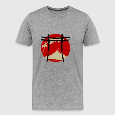 arc japonais Torii Version 2 - T-shirt Premium Homme