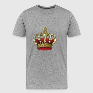krone crown koenig king castle schloss tower burg2 - Männer Premium T-Shirt