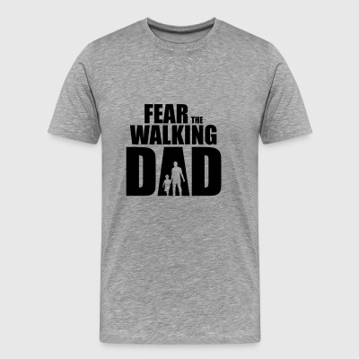 Fear The Walking Dad - Männer Premium T-Shirt