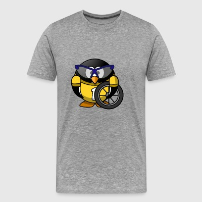 Penguin racer - Men's Premium T-Shirt