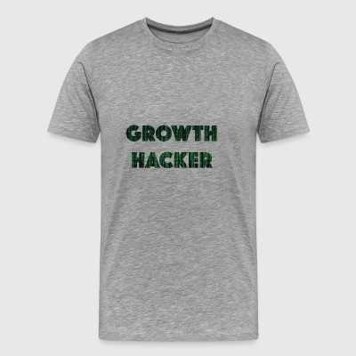 growth Hacker - Mannen Premium T-shirt