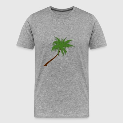 palm coconut coconut palm veggie vegetable fruits - Men's Premium T-Shirt