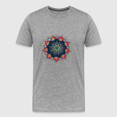 Colorfull mandala! - Men's Premium T-Shirt