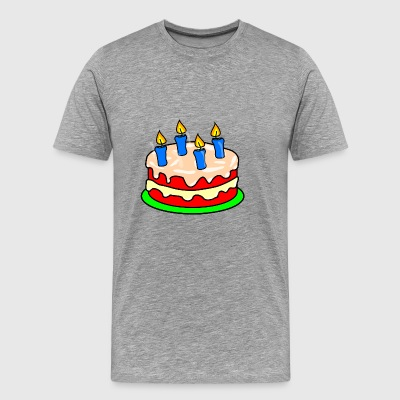 birthday cake - Men's Premium T-Shirt