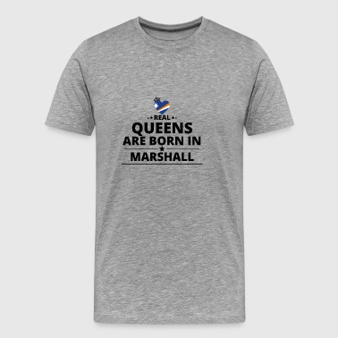 GIFT QUEENS LOVE FROM MARSHALL ISLANDS - Men's Premium T-Shirt