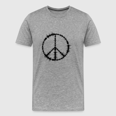 The Sound of Peace - Herre premium T-shirt