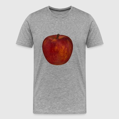 apple apple fruit veggie vegetables fruits45 - Men's Premium T-Shirt