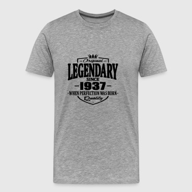 Legendarisk sedan 1937 - Premium-T-shirt herr