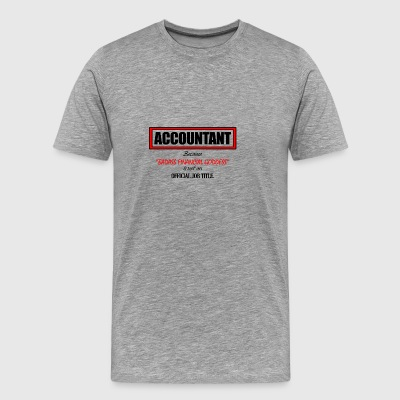 Accountant - Men's Premium T-Shirt