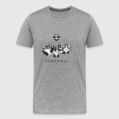 Pandamic - Men's Premium T-Shirt