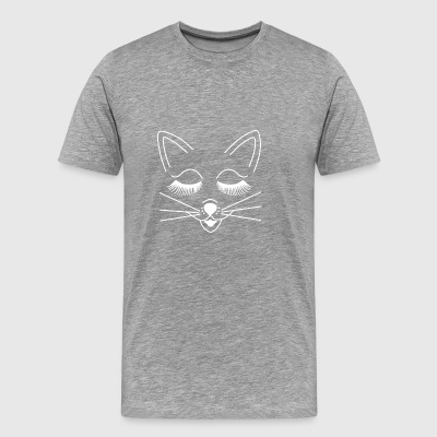 Mouse cat kitty kitty cute sweet without text - Men's Premium T-Shirt