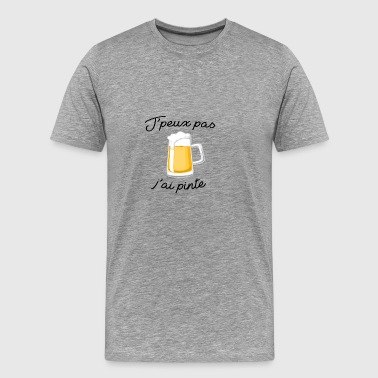 I can not have pint - Men's Premium T-Shirt