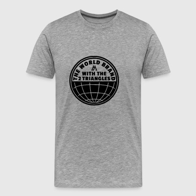 World Brand - Premium-T-shirt herr