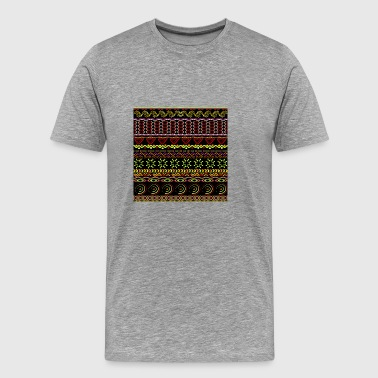 Tribal dessiné à la main - T-shirt Premium Homme