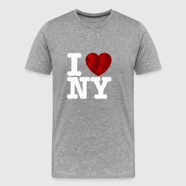 I love New York t shirt - gift heart love - Men's Premium T-Shirt