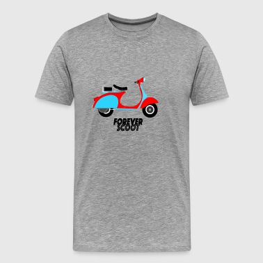 scooter my love - Men's Premium T-Shirt