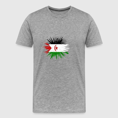 Gift Splatter Land Roots Western Sahara - Men's Premium T-Shirt