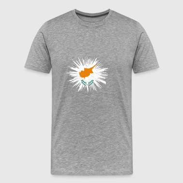 Gift Splatter Land Roots Cyprus - Men's Premium T-Shirt