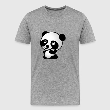 sweet Panda - Premium T-skjorte for menn