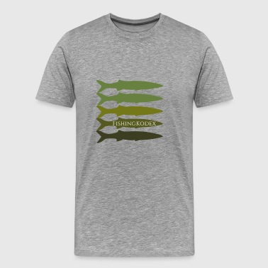 Kodi of Fishing Code - Men's Premium T-Shirt