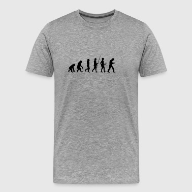 Evolution to addiction t-shirt gift - Men's Premium T-Shirt