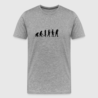 Evolution to the photographer T-shirt gift - Men's Premium T-Shirt