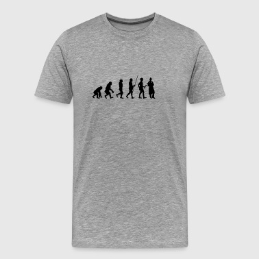 Evolution un'infermiera T-shirt come regalo - Maglietta Premium da uomo
