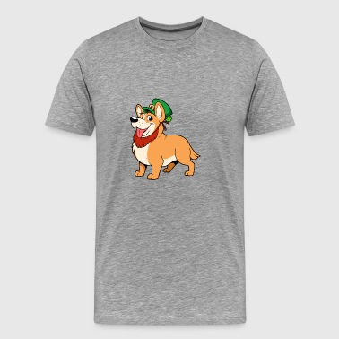 Dog Leprechaun - Men's Premium T-Shirt