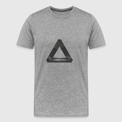 Glitch triangle - Men's Premium T-Shirt