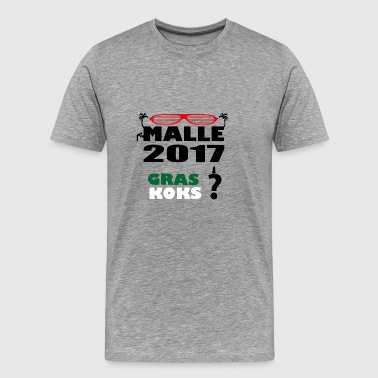 grass malls - Men's Premium T-Shirt