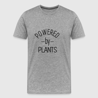 Powered by Plants - Veggie T-shirt Gift - Men's Premium T-Shirt