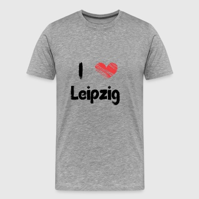 I love Leipzig - Men's Premium T-Shirt
