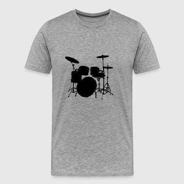Drums - Men's Premium T-Shirt
