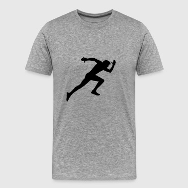 runner - Men's Premium T-Shirt
