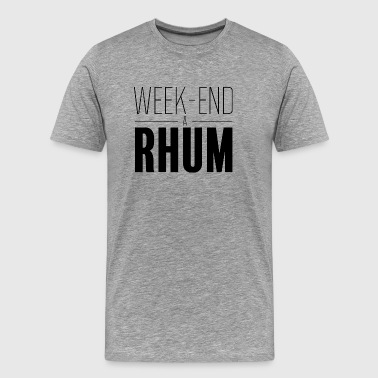 Week-end à rhum - T-shirt Premium Homme