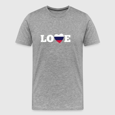 amour Russie - T-shirt Premium Homme