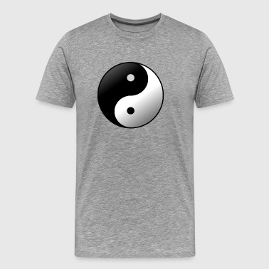 Ying Yang evenwicht Yin Yang Uniform China - Mannen Premium T-shirt