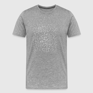 abstract dots - Men's Premium T-Shirt