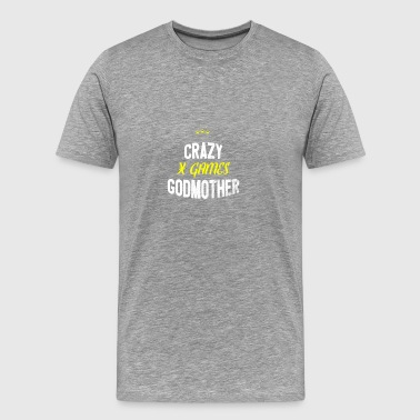Distressed - CRAZY X GAMES GODMOTHER - Männer Premium T-Shirt