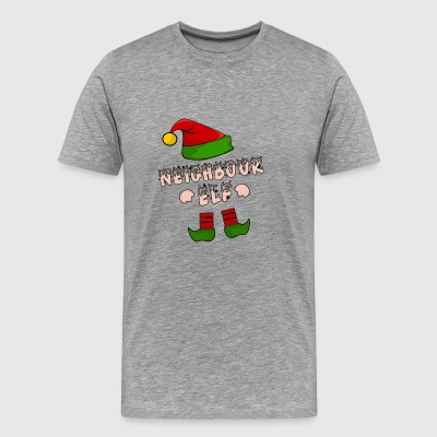 Neighbor, neighbor, village kid, Christmas gift - Men's Premium T-Shirt